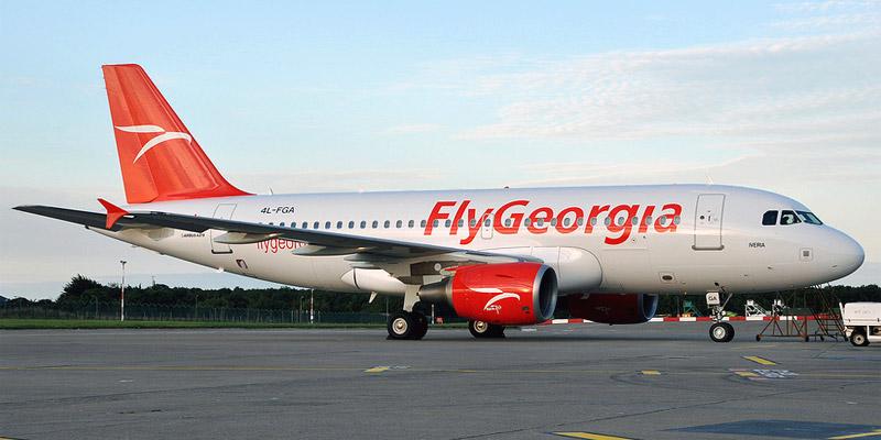 Airbus A319 авиакомпании FlyGeorgia