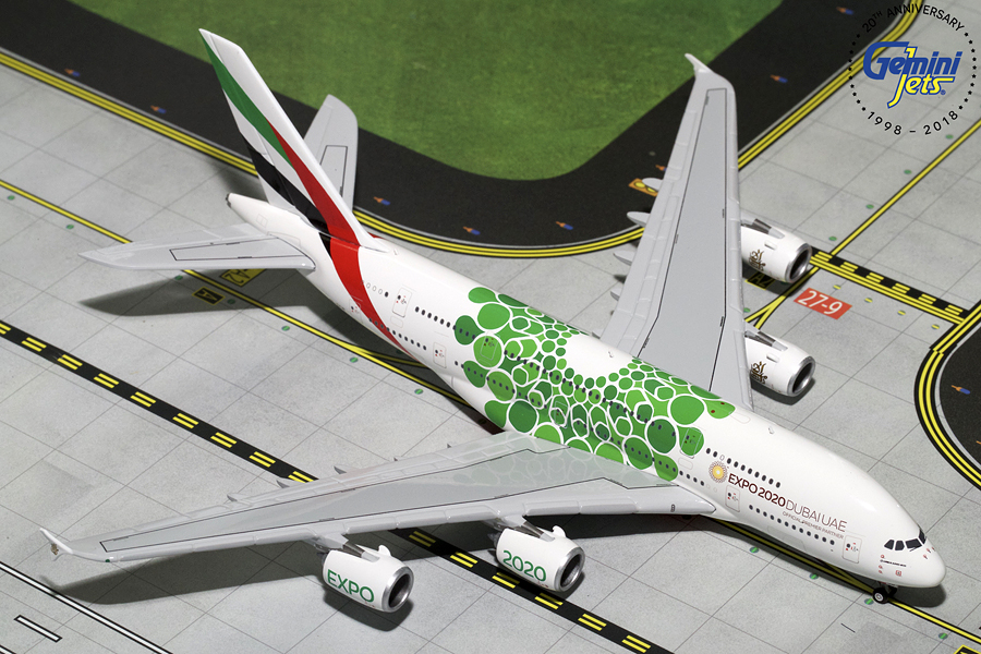 """Airbus A380-800 """"Green Expo 2020"""""""
