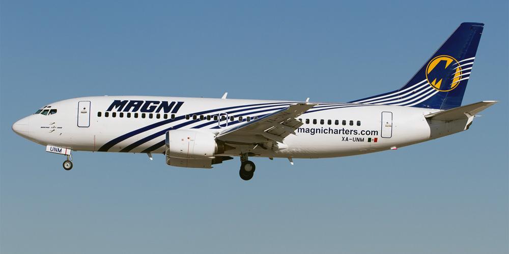 Boeing 737-300 авиакомпании Magnicharters