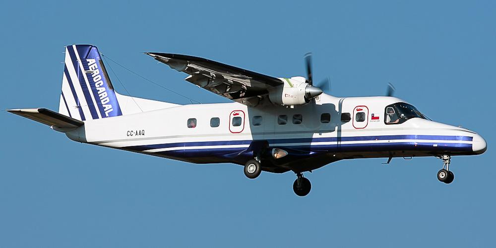 Самолет Dornier 228 авиакомпании Aerocardal
