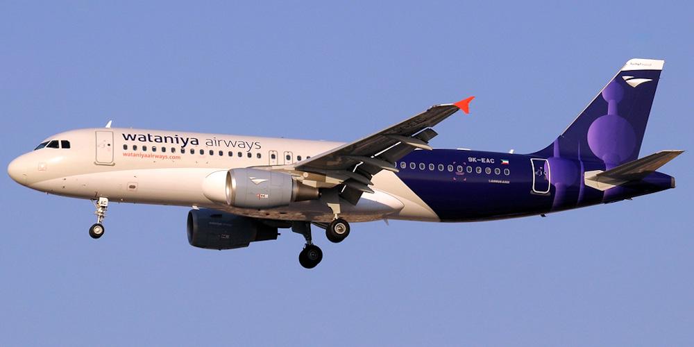 Wataniya Airways airline