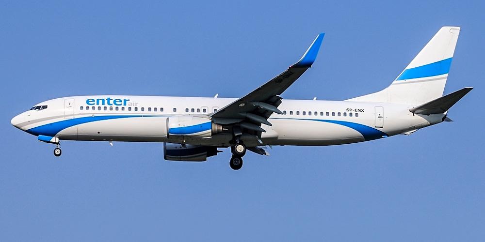 Боинг-737-800 авиакомпании Enter Air