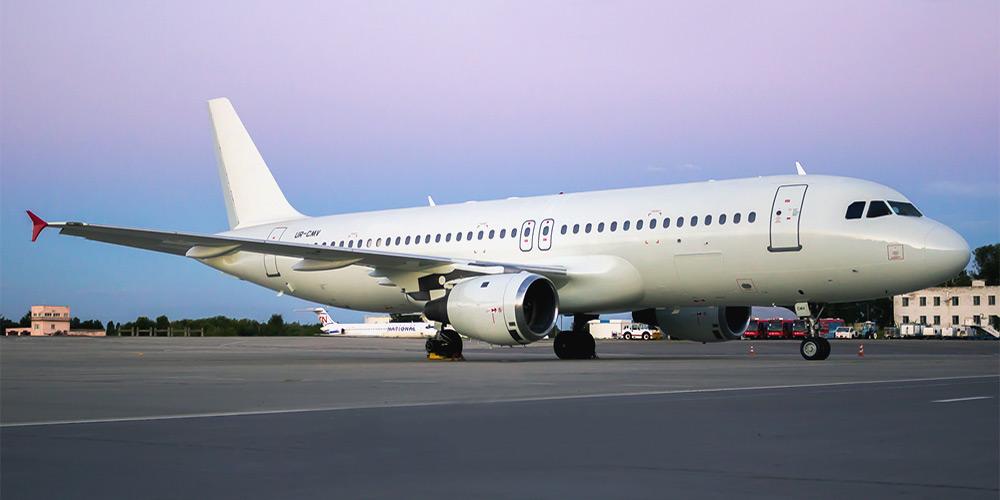 Airbus A320 авиакомпании DART