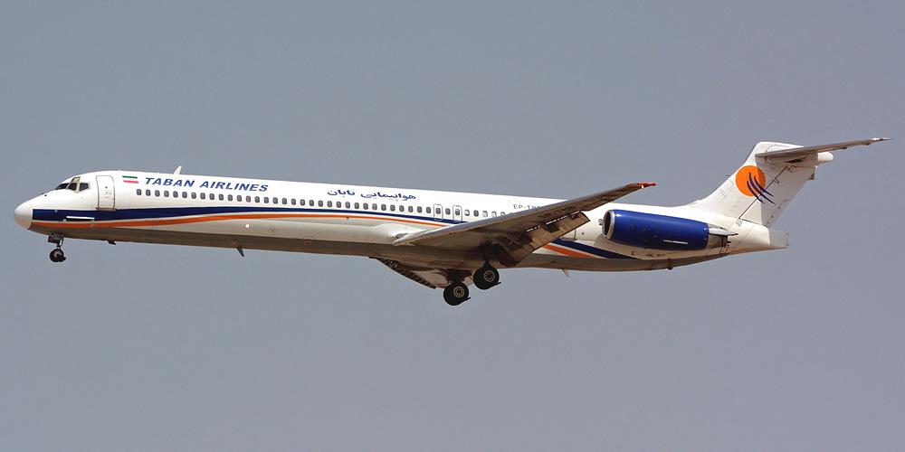 MD-88 авиакомпании Taban Airlines