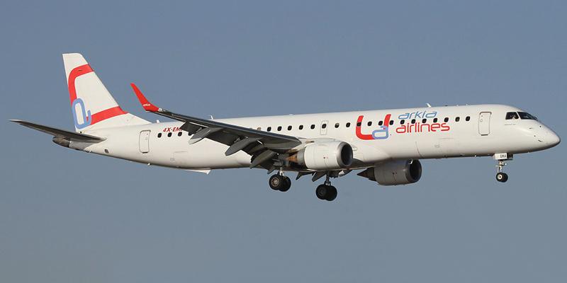 Embraer 190 авиакомпании Arkia Israeli Airlines