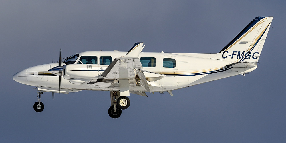 Piper PA-31 Navajo Chieftain- passenger aircraft. Photos, characteristics, reviews.