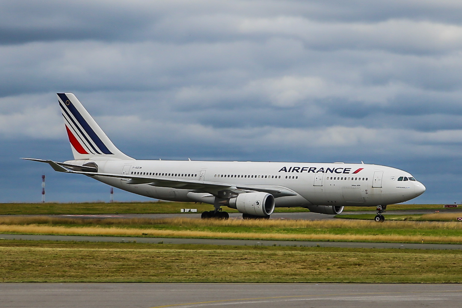 Airbus A330-200 Air France at Paris Charles-de-Gaulle
