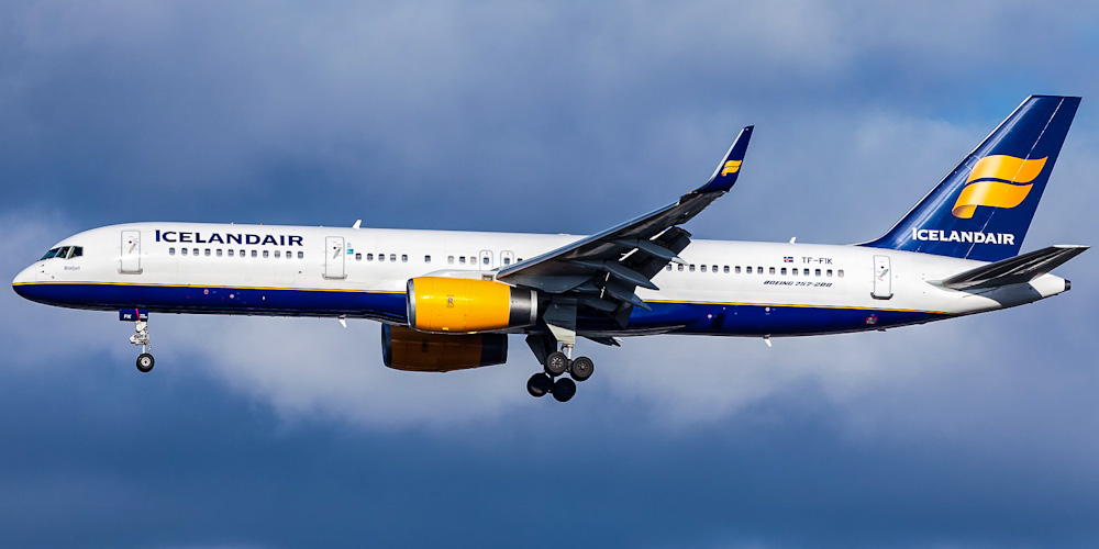 Боинг-757-200 авиакомпании Icelandair