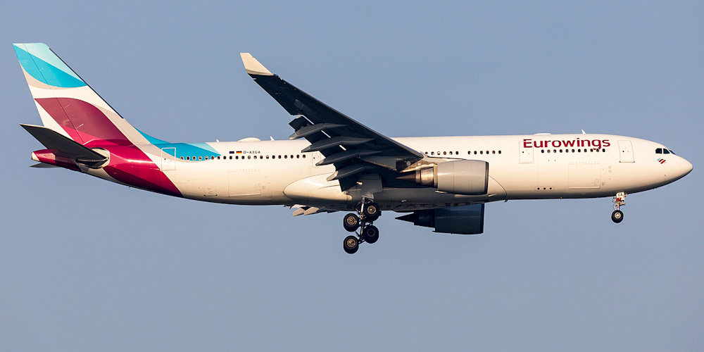Airbus A330-200 авиакомпании Eurowings
