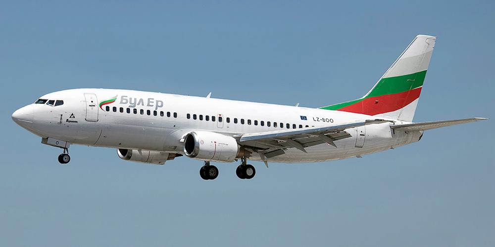Боинг-737-300 авиакомпании Bul Air