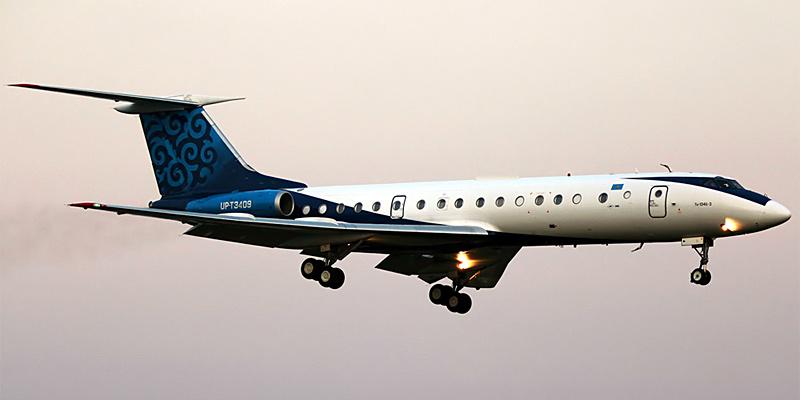 Самолет Ту-134 авиакомпани Euro-Asia Air
