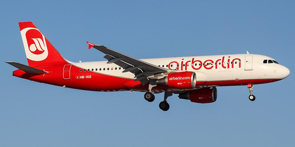 Самолет Airbus A320 авиакомпании Belair