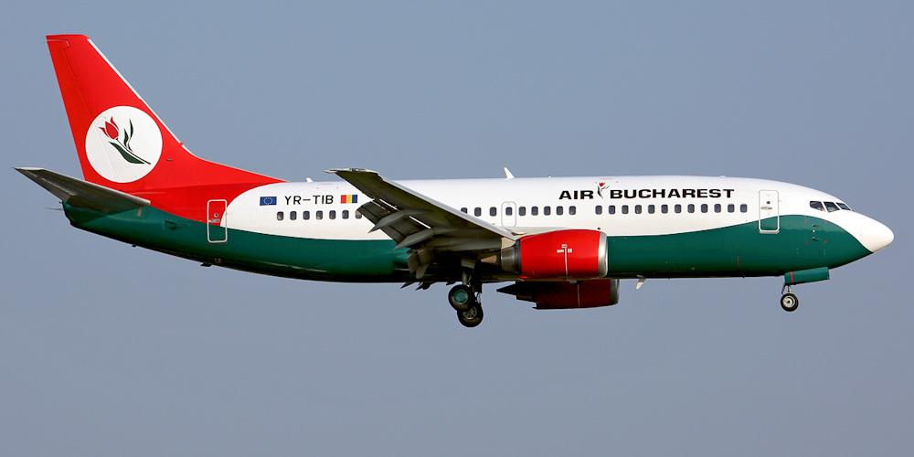 Боинг-737-300 авиакомпании Air Bucharest
