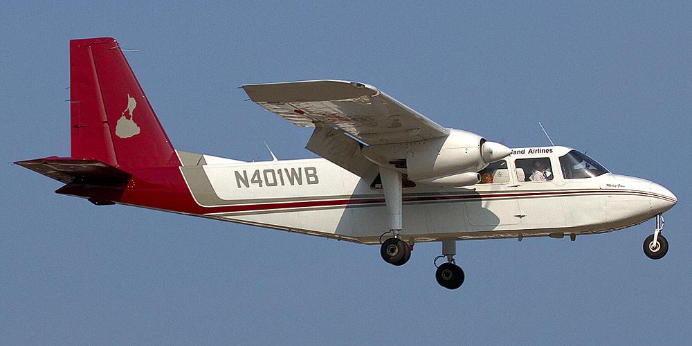 Самолет Britten Norman Islander авиакомпании New England Airlines