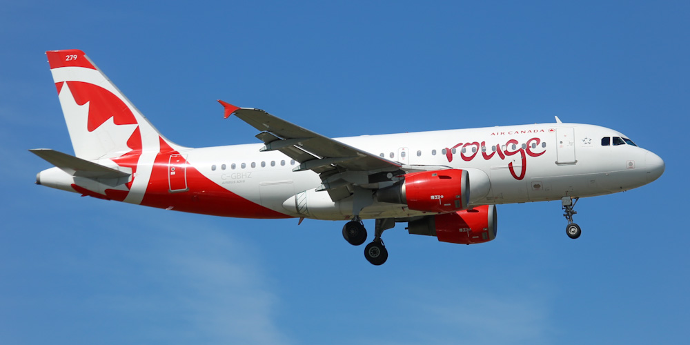Air Canada Rouge airline