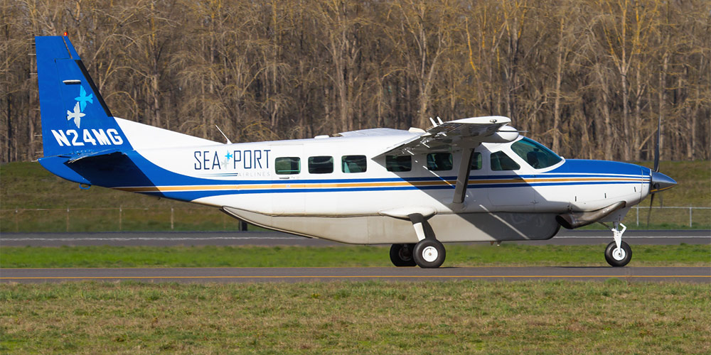 Самолет Cessna Grand Caravan авиакомпании SeaPort Airlines