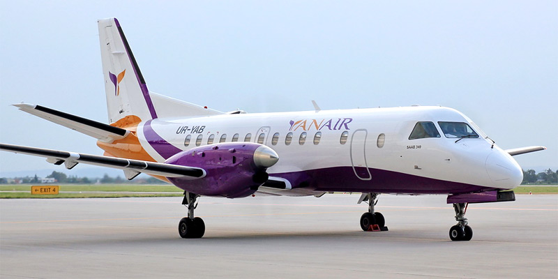 Самолет Saab 340 авиакомпании YanAir