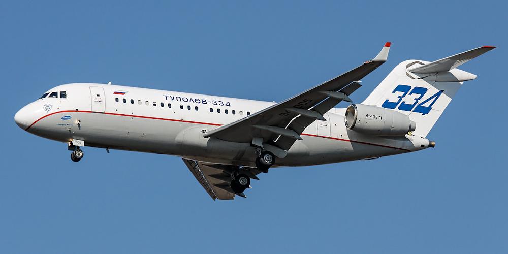 Tupolev Tu-334- passenger aircraft. Photos, characteristics, reviews.