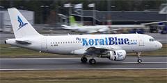 Авиакомпания КоралБлу (KoralBlue)