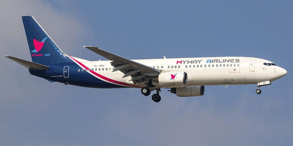 Боинг-737-800 авиакомпании Myway Airlines