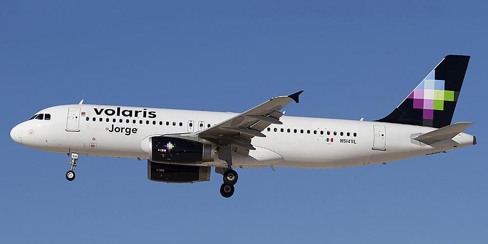 Airbus A320 авиакомпании Volaris