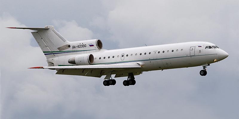 Самолет Як-42 авиакомпании Тулпар