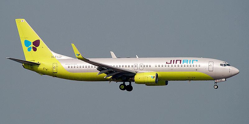 Боинг-737-800 авиакомпании Jin Air