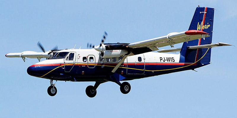 Самолет DHC-6 Twin Otter авиакомпании Winair