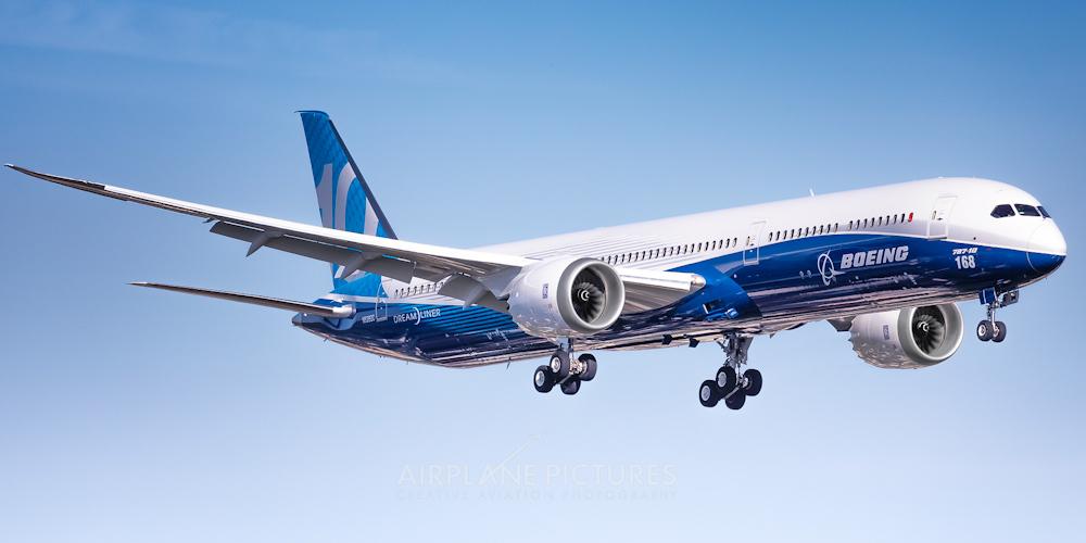Boeing 787-10- пассажирский самолет. Фото, характеристики, отзывы.