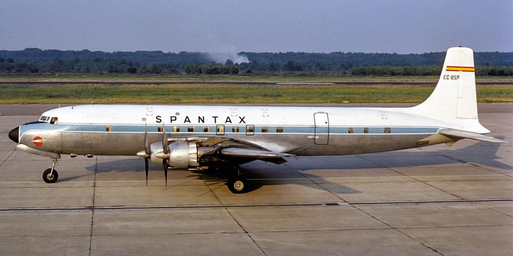 Douglas DC-7- passenger aircraft. Photos, characteristics, reviews.