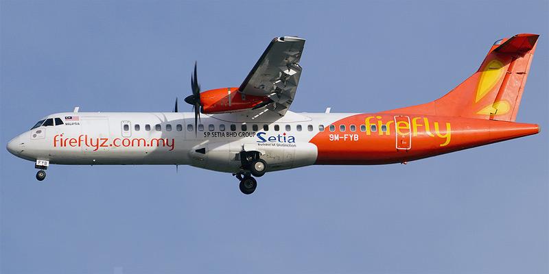 Самолет ATR 72 авиакомпани Firefly