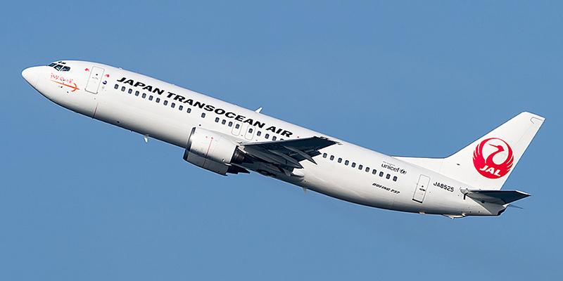 Japan Transocean Air airline