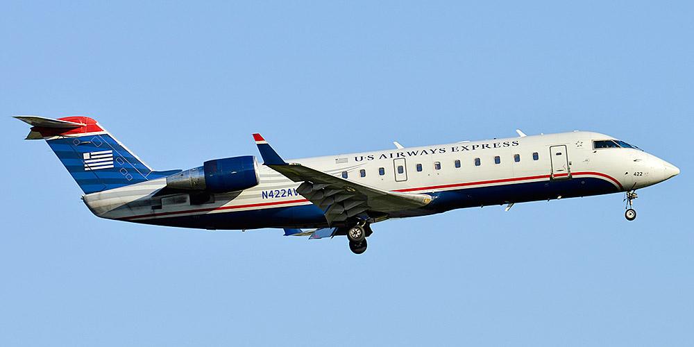 Bombardier CRJ200 авиакомпании Air Wisconsin