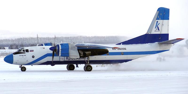 Самолет Ан-26-100 авиакомпании Красавиа