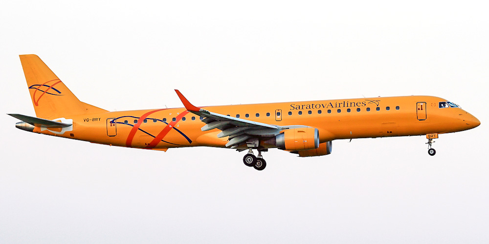 Embraer 195- passenger aircraft. Photos, characteristics, reviews.