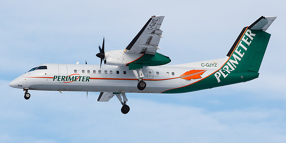 Bombardier Dash 8-300 авиакомпании Perimeter Airlines