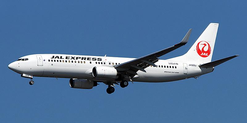 Boeing 737-800 авиакомпании JAL Express