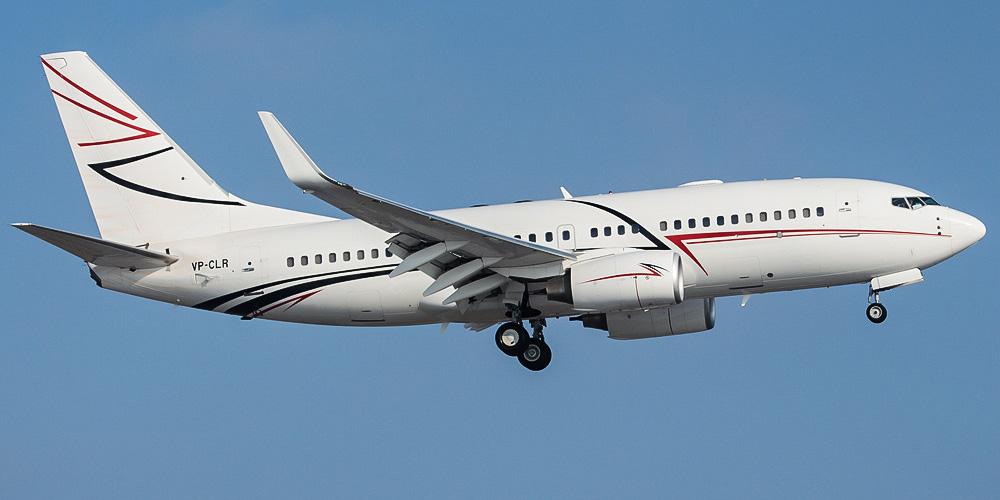 Boeing Business Jet авиакомпании Лукойл-Авиа