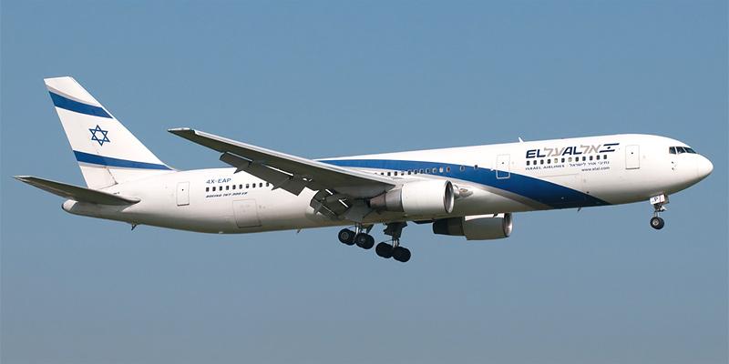 Боинг-767-300 авиакомпании El Al