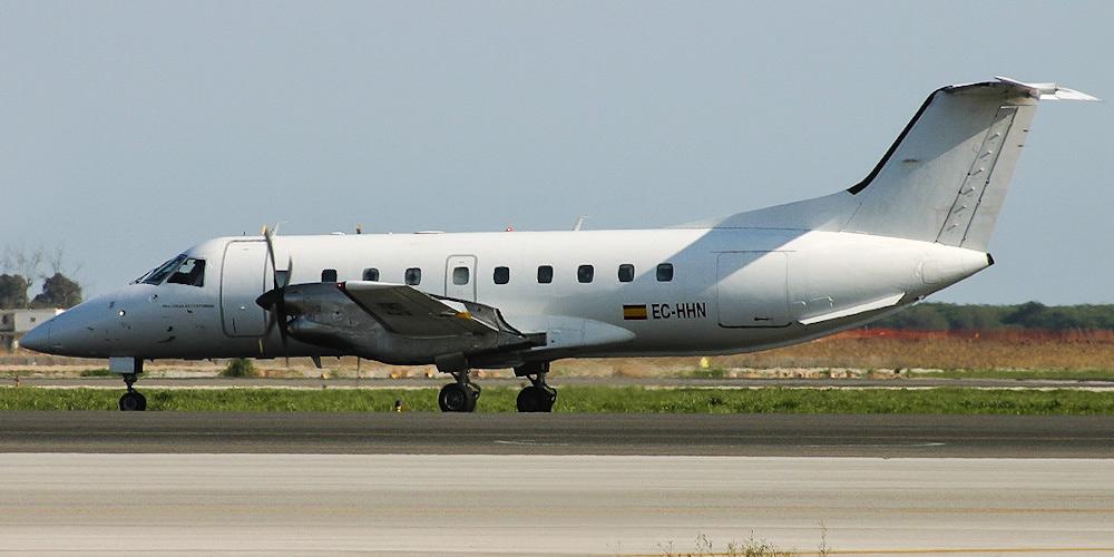Самолет Embraer 120 авиакомпании Ibertrans Aerea