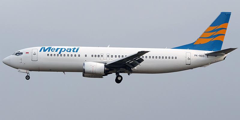 Merpati Nusantara airline