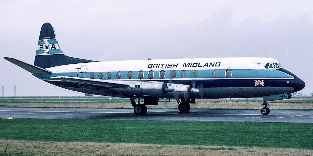 Vickers Viscount- passenger aircraft. Photos, characteristics, reviews.
