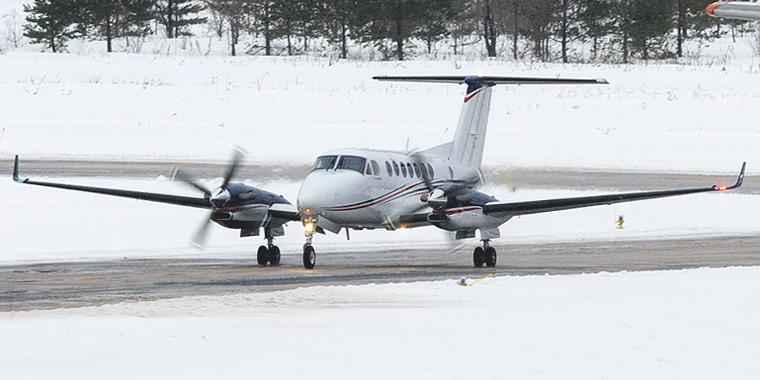 Beechcraft King Air 350 авиакомпании Эйр Самара