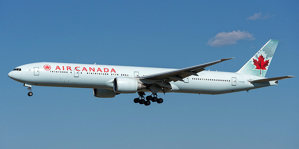Боинг-777-300 авиакомпании Air Canada