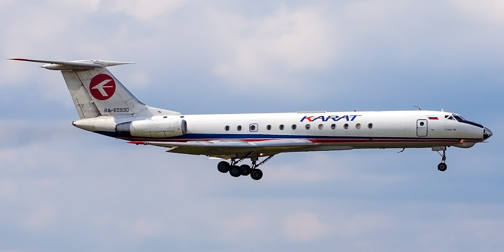 Tupolev Tu-134- passenger aircraft. Photos, characteristics, reviews.