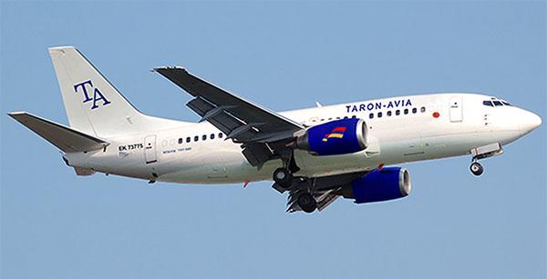 Авиакомпания Тарон-Авиа (Taron Avia)