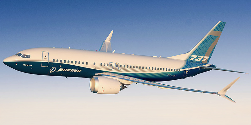 Boeing 737 MAX 7- passenger aircraft. Photos, characteristics, reviews.