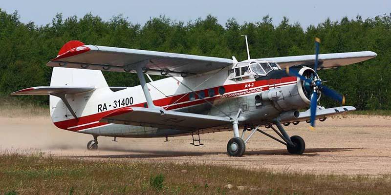 Самолет Ан-2 2-го Архангельского авиаотряда