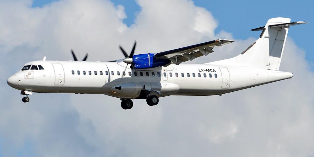 ATR 72 авиакомпании DOT LT