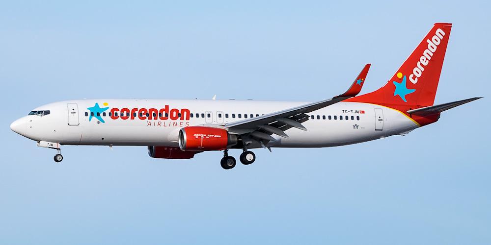 Боинг-737-800 авиакомпании Corendon Airlines